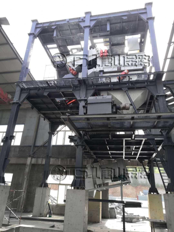 山东腾建时产100吨制砂生产线(在建)