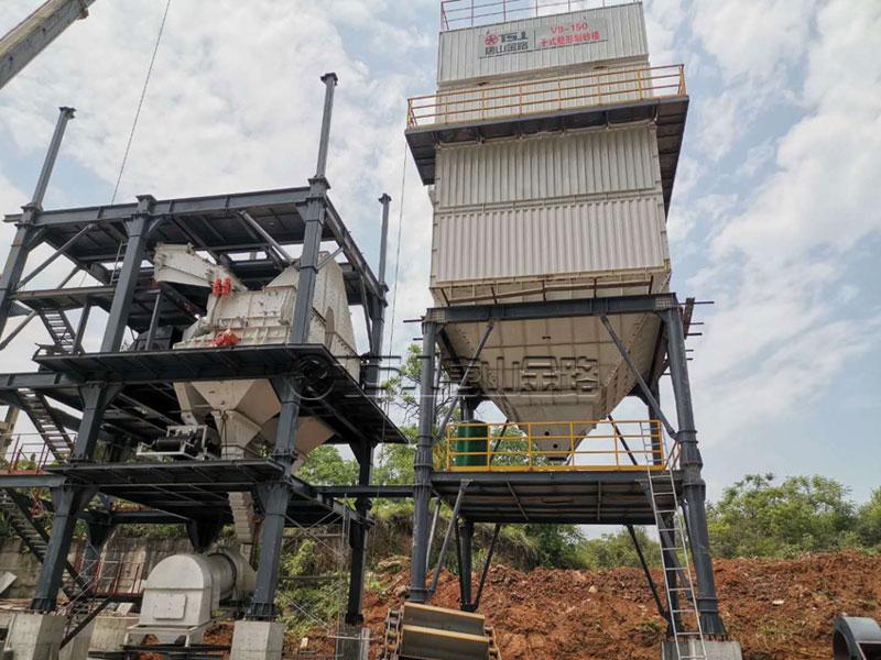 唐山金路V9—150干法制砂生产线