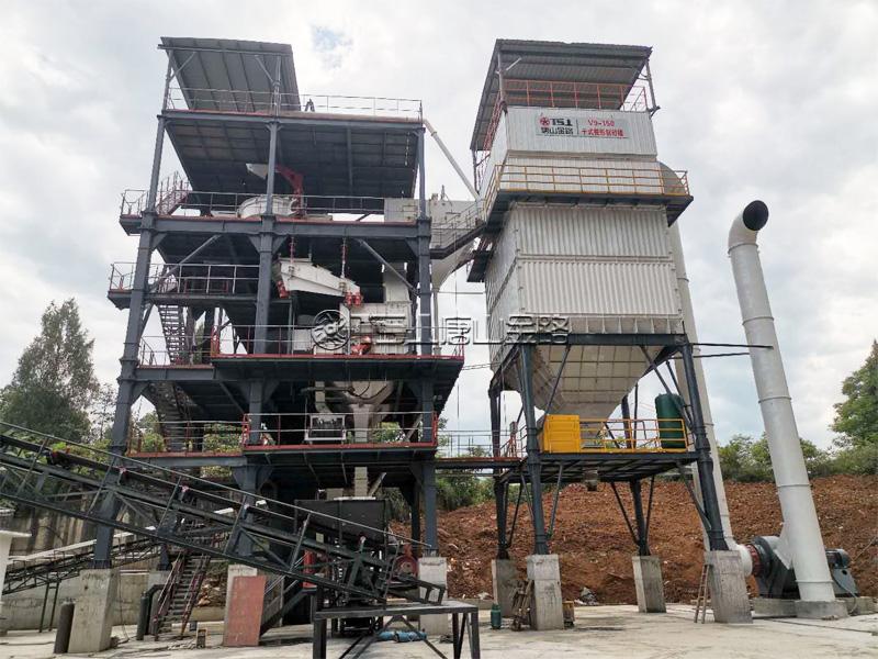 环保制砂楼生产线